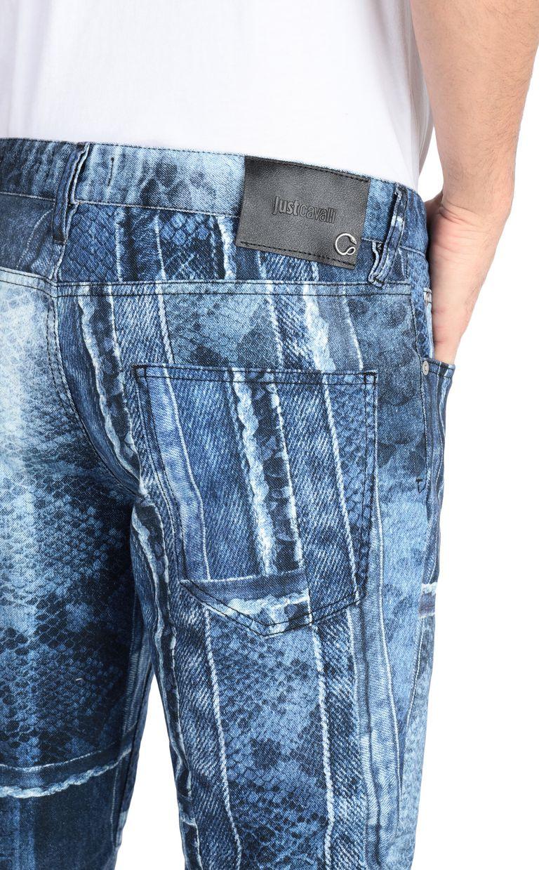 JUST CAVALLI Denimflage Just fit jeans Jeans Man e