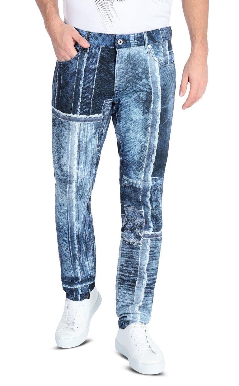 JUST CAVALLI Denimflage Just fit jeans Jeans Man f