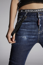 DSQUARED2 Blu Cadet Cool Girl Jeans 5 pockets Woman
