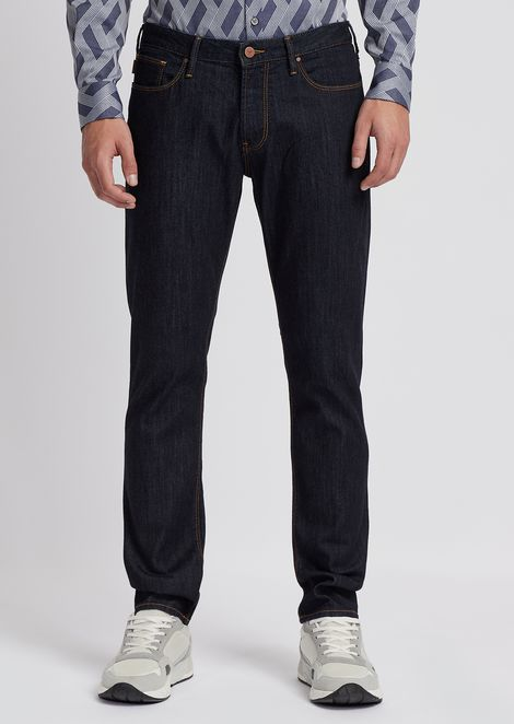 Jeans J06 slim fit in denim 10oz comfort medium wash