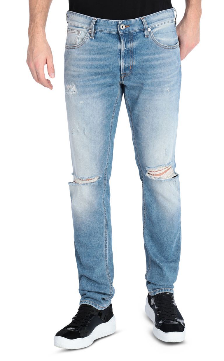 JUST CAVALLI Ripped jeans with a Just Fit Jeans Man f