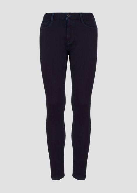 Extra slim-fit, right hand J35 comfort stretch twill denim jeans