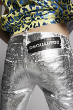 DSQUARED2 Platinum Jennifer Jeans 5 pockets Woman