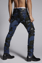 DSQUARED2 Camo Cool Guy Jeans 5 pockets Man