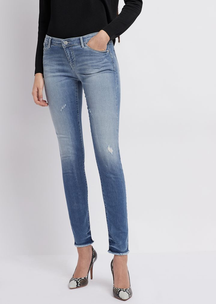 ef086e4e85 Super skinny J23 jeans in comfort denim with push-up effect | Woman ...