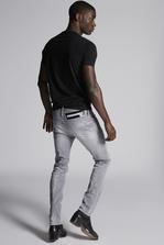 DSQUARED2 Grey Denim Cool Guy Jeans 5 pockets Man
