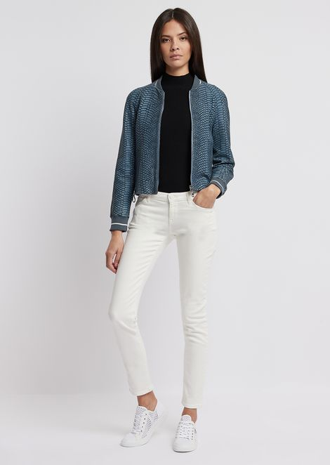 J06 skinny jeans in garment-dyed stretch denim