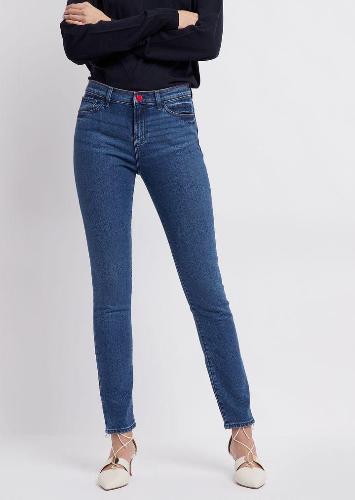 9255b530 J20 super skinny jeans in medium stretch denim | Woman | Emporio Armani