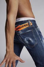 DSQUARED2 Medium Easy Wash Slim Jeans Джинсы с 5-ю карманами Для Мужчин