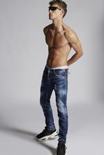 DSQUARED2 Medium Easy Wash Slim Jeans 5 pockets Man
