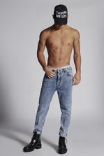 DSQUARED2 Acid Wash 80's Jeans 5 pockets Man