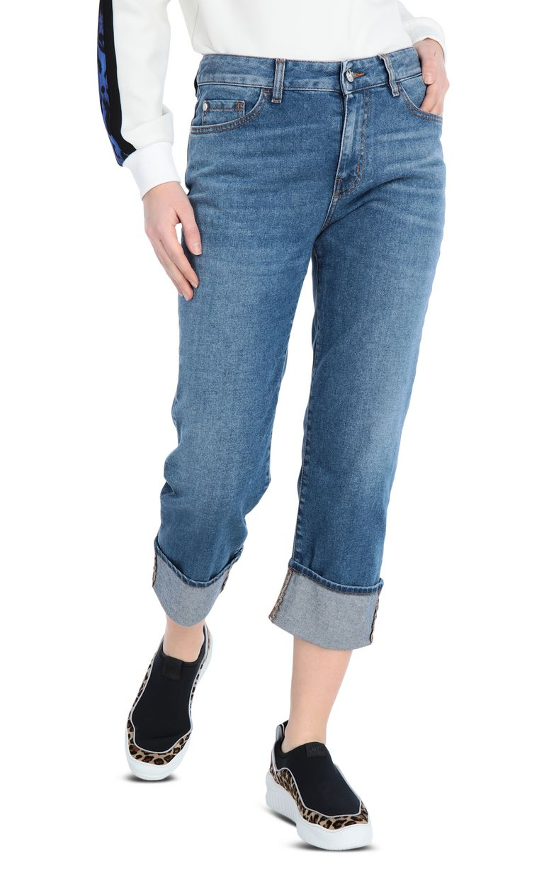 JUST CAVALLI 5-pocket Boy-fit jeans Jeans Woman f