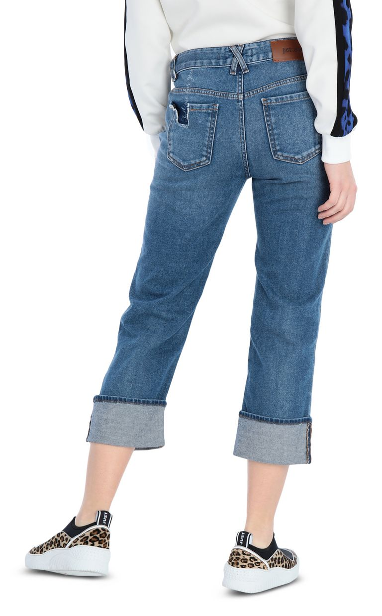 JUST CAVALLI 5-pocket Boy-fit jeans Jeans Woman r
