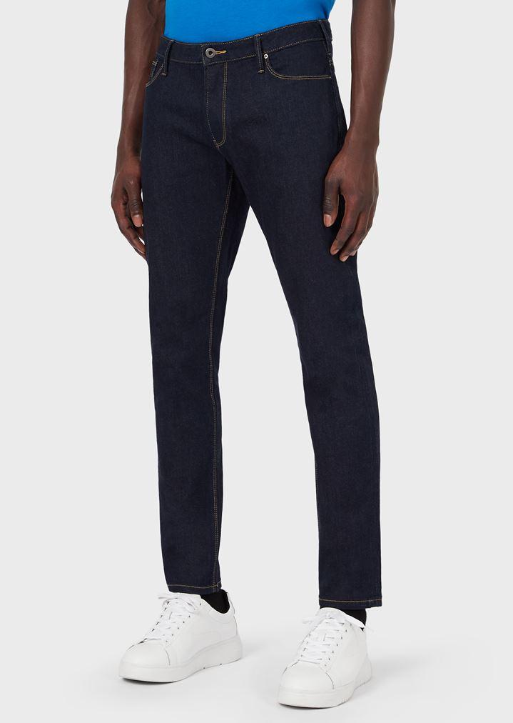 d242a9776a Slim-fit J06 jeans in stretch cotton denim