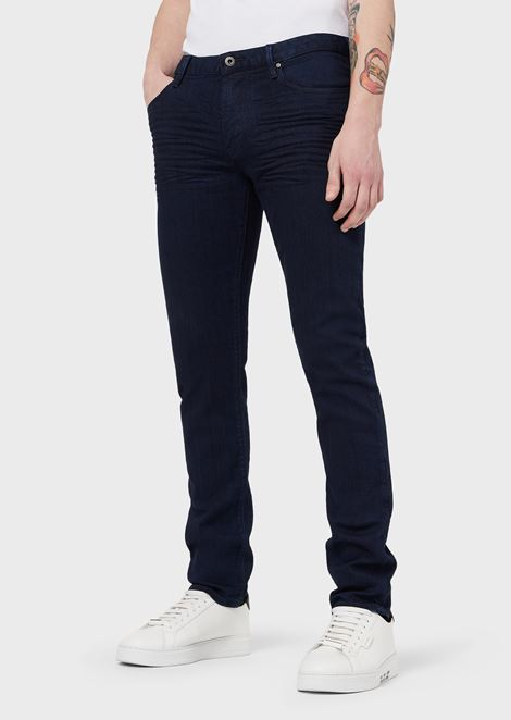 Slim-fit J06 jeans in stretch cotton