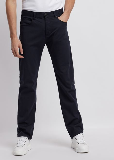 Regular-fit J31 comfort gabardine jeans