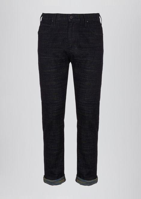 Regular-fit J45 jeans in right hand twill cotton denim