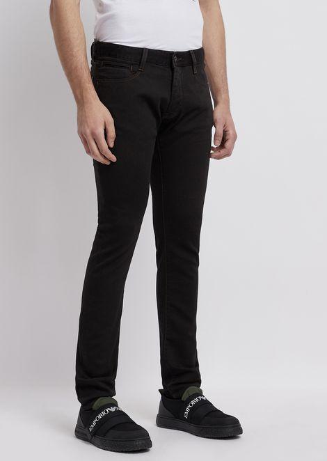J35 超修身版型 J45 右斜纹织弹力棉舒适牛仔裤