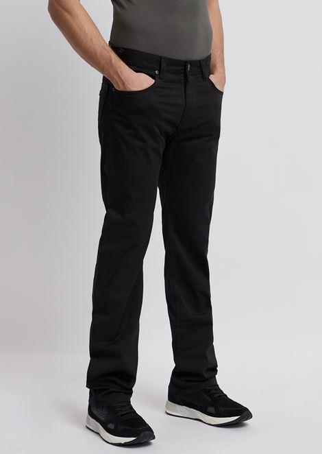 J31 标准版型舒适华达呢牛仔裤