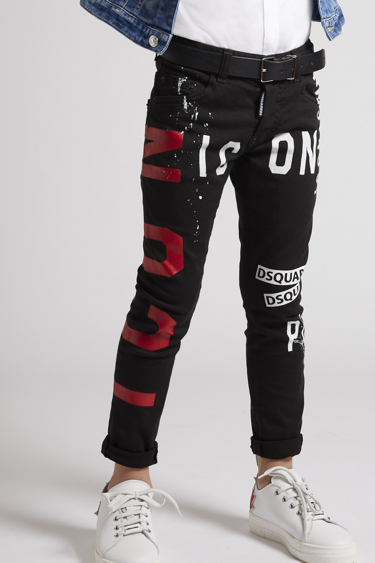 DSQUARED2 Icon Punk Jeans 5 pockets Man