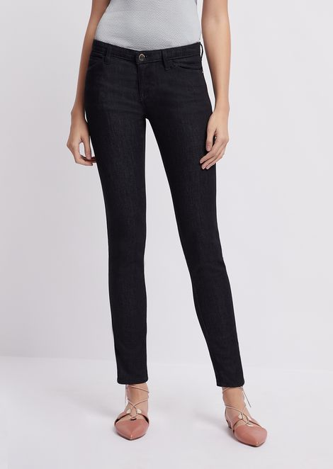 J06 skinny jeans in a blend of stretch denim and lyocell