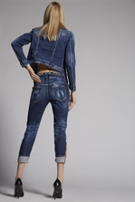 DSQUARED2 Medium Easy Super Skinny Cropped Jeans 5 pockets Woman