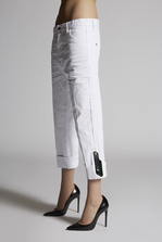 DSQUARED2 Stretch Bull Garment Dyed Dennis Jeans 5 pockets Woman