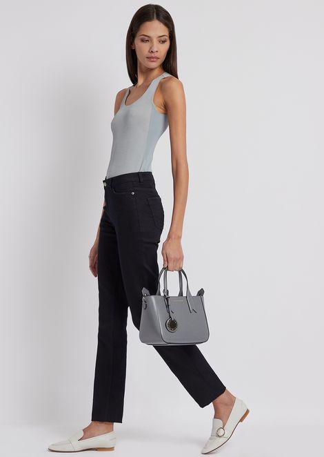 Straight-slim-fit J85 jeans in stretch denim