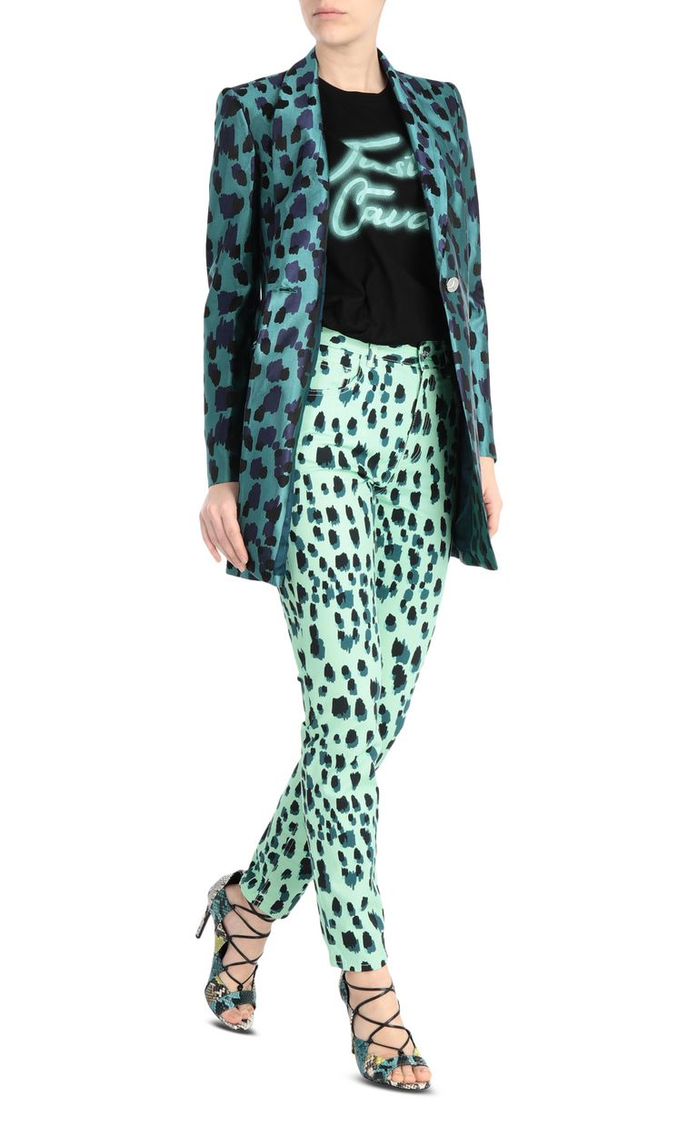 JUST CAVALLI Slim-fit leopard-print jeans Jeans Woman d