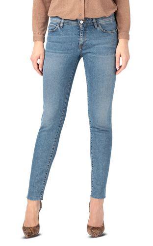 JUST CAVALLI Jeans Donna Denim ricamo slim fit f