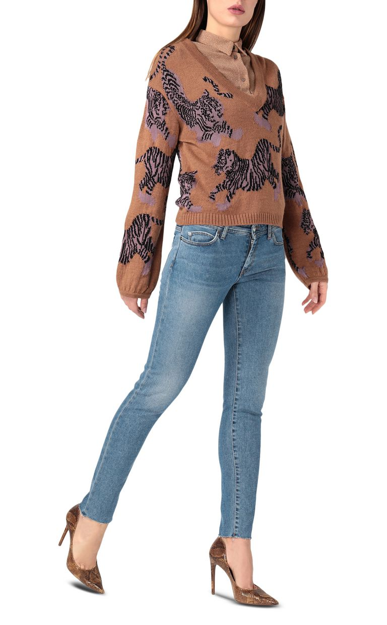 JUST CAVALLI Embroidered slim-fit jeans Jeans [*** pickupInStoreShipping_info ***] d