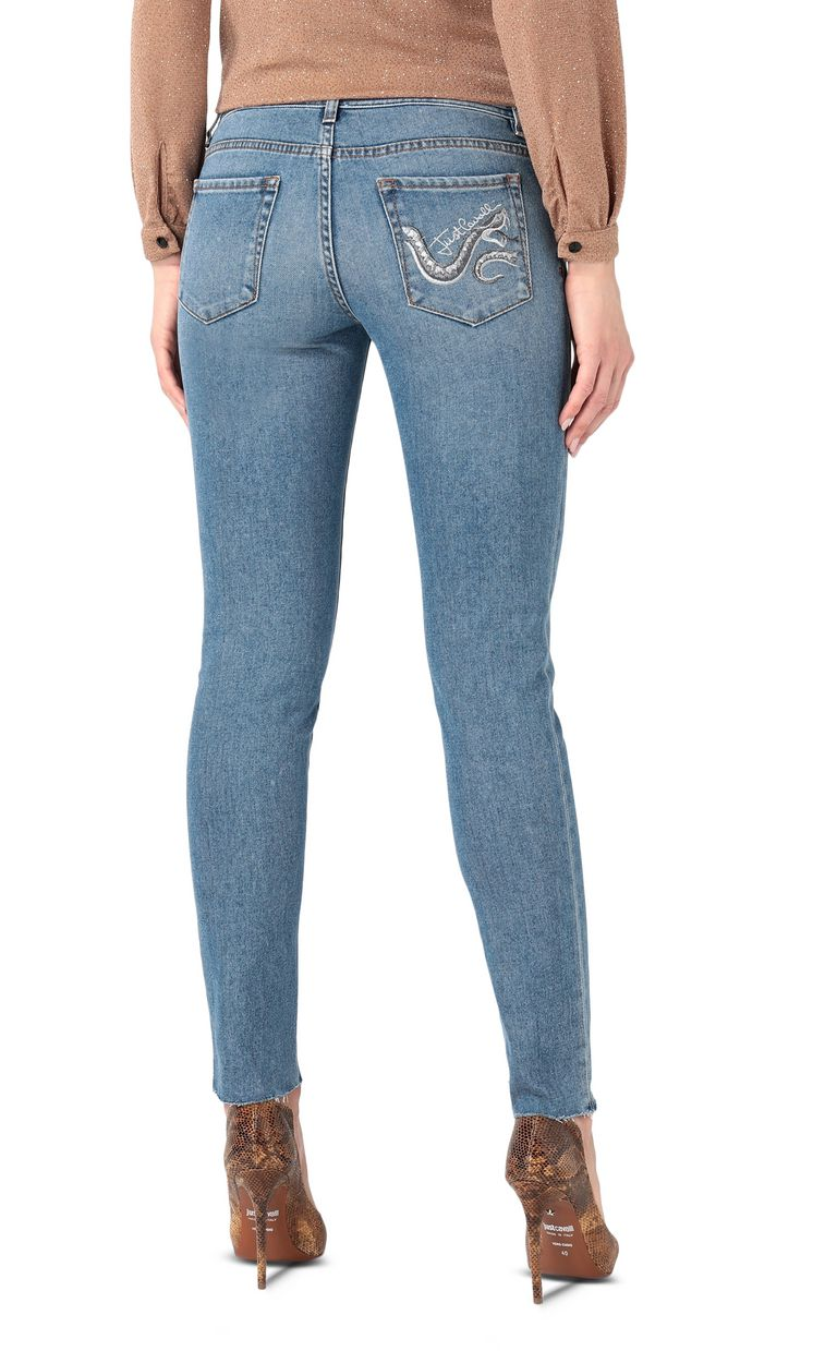 JUST CAVALLI Embroidered slim-fit jeans Jeans [*** pickupInStoreShipping_info ***] r