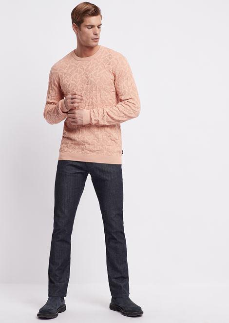 Regular-fit J45 jeans in 7.5oz right-hand comfort denim