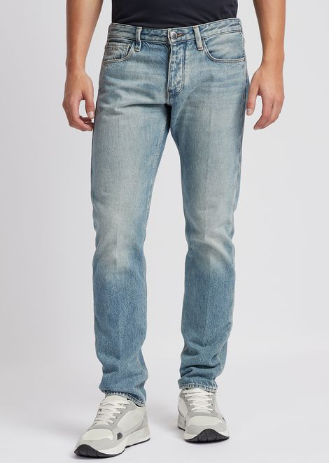 Slim-fit J75 11.5 oz denim jeans