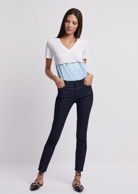 Super skinny J20 jeans in comfort denim