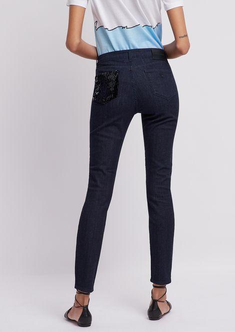 Super skinny J20 jeans in comfort denim