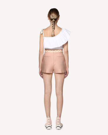 REDValentino RR0RFA903M7 GS7 Bermuda shorts Woman r