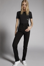 DSQUARED2 Mert & Marcus 1994 x Dsquared2 Stretch Bull Garment Dye Jeans 5 pockets Woman