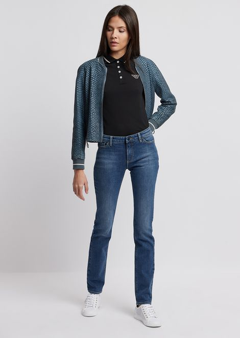 EMPORIO ARMANI Straight Jeans Woman d