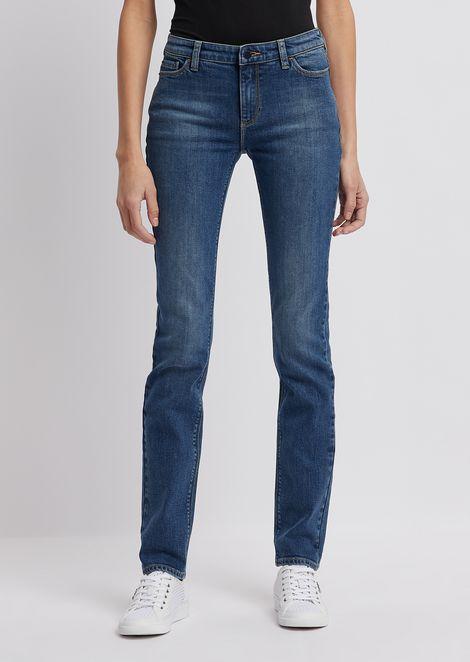 EMPORIO ARMANI Straight Jeans Woman f