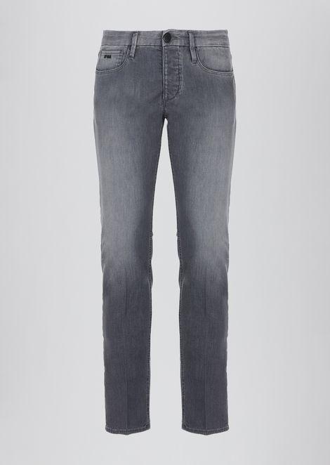 Slim-fit J00 jeans in 8oz soft vintage denim