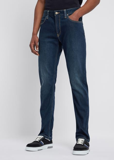 J15 jeans in 10.5 oz right-hand comfort denim twill