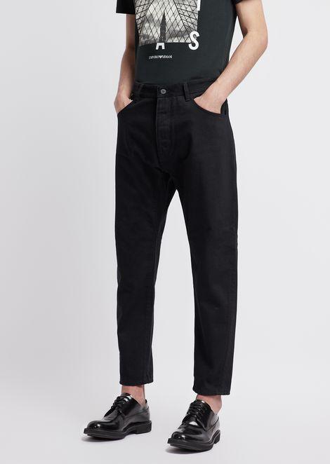 EMPORIO ARMANI Loose Jeans Man f