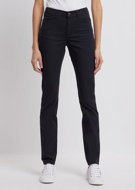 Super-skinny J18 jeans in gabardine