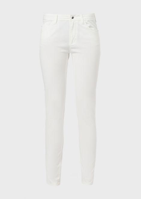 Super-skinny J28 jeans in gabardine