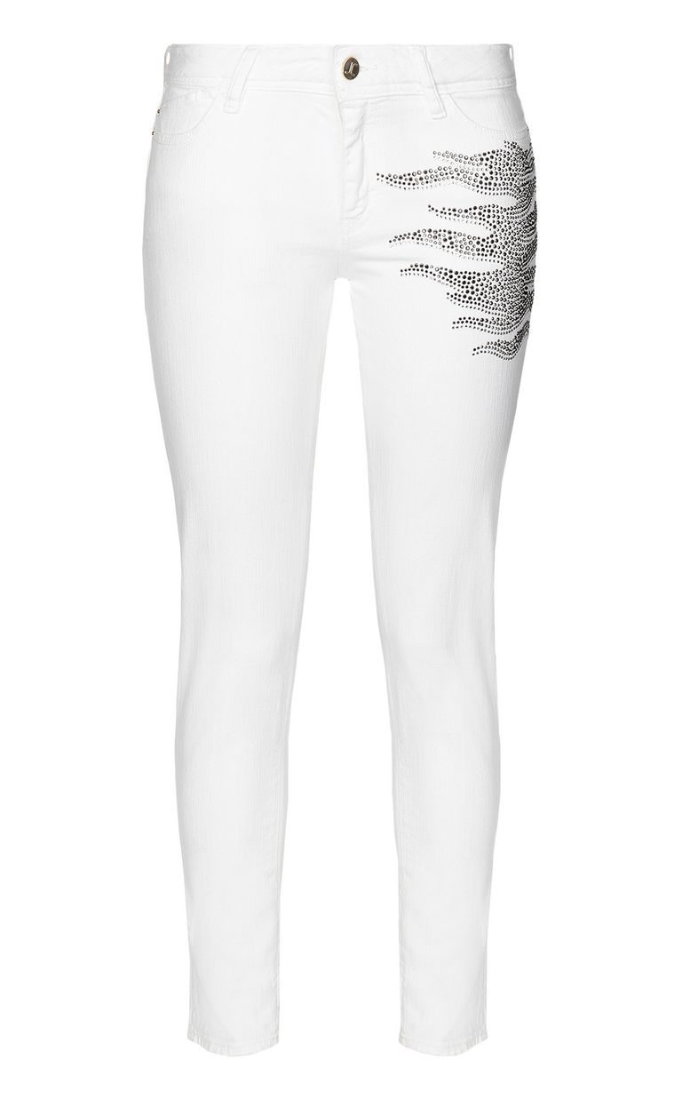 JUST CAVALLI Slim-fit jeans with studs Jeans Woman f