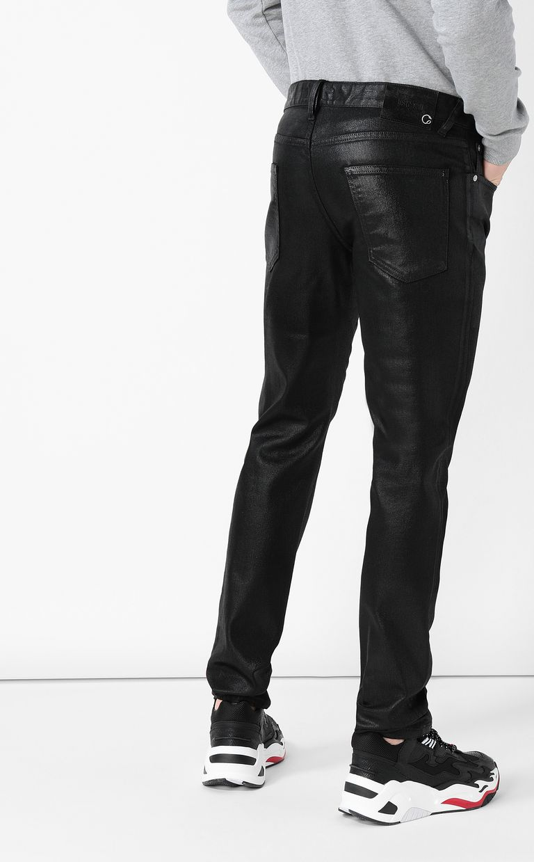 JUST CAVALLI High-shine Just-Fit Jeans Jeans Man a