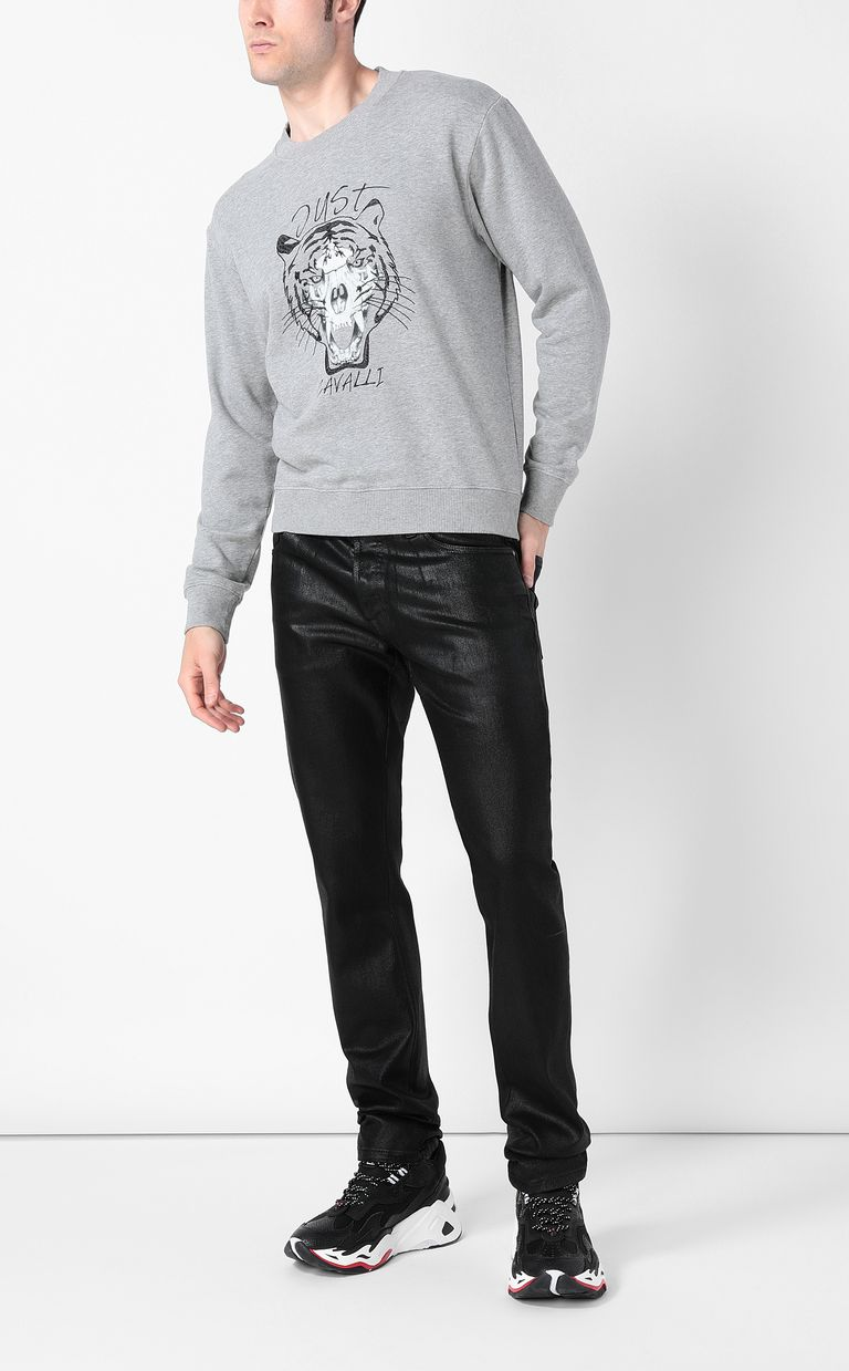 JUST CAVALLI High-shine Just-Fit Jeans Jeans Man d