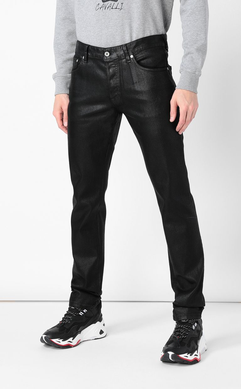 JUST CAVALLI High-shine Just-Fit Jeans Jeans Man r