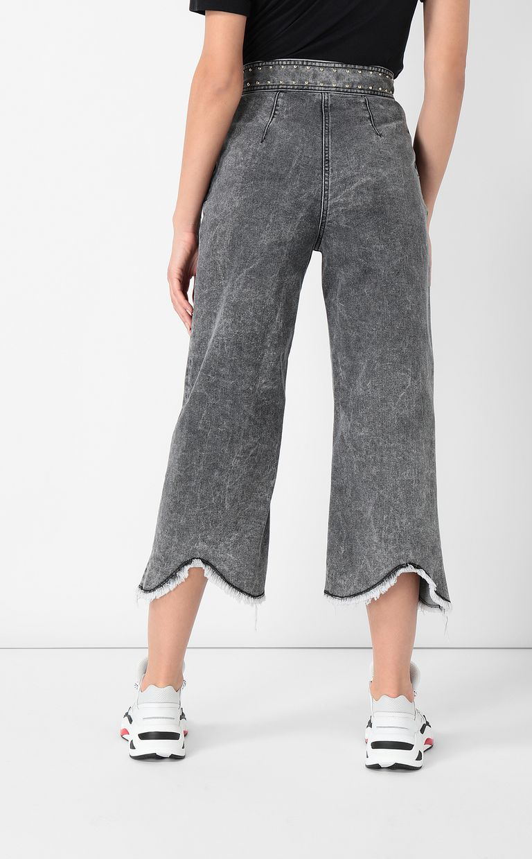 JUST CAVALLI Jeans with wide bottoms Jeans Woman a